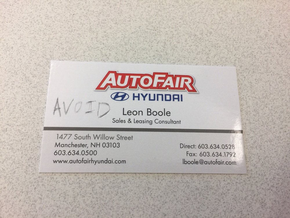 AutoFair Hyundai   10 Photos U0026 39 Reviews   Car Dealers   1477 S Willow St,  Manchester, NH   Phone Number   Yelp