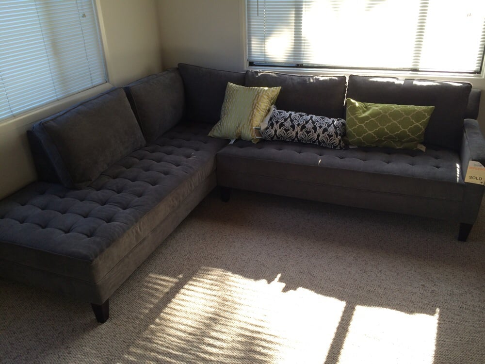 Our New Z Gallerie Couch 1000 Off Due To A Scratch On A