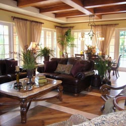 Photo Of De Wolfe Interiors Lake Worth Fl United States Transitional Living Room Design