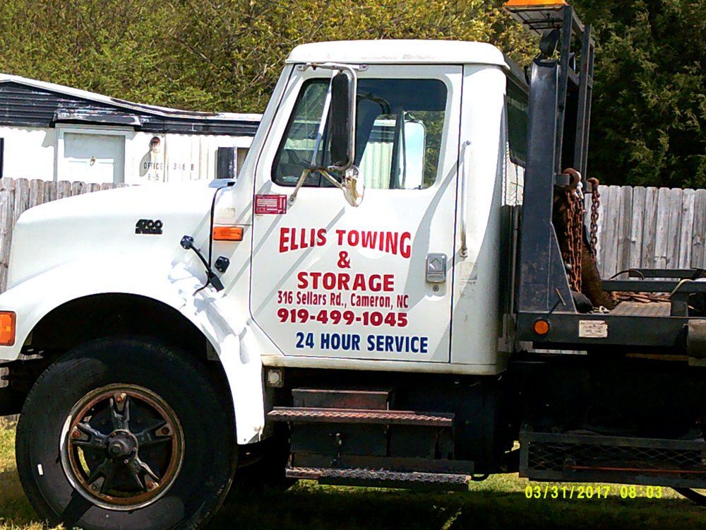 Ellis Towing: 316 Sellars Rd, Cameron, NC