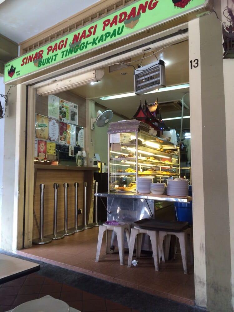 Sinar Pagi Nasi Padang Singapore
