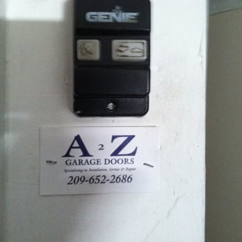 Photo Of A 2 Z Garage Doors Modesto Ca United States Have