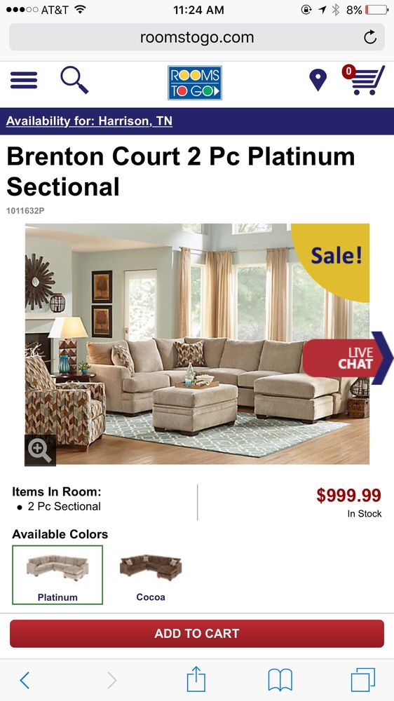 Rooms To Go   Furniture Stores   2277 Gunbarrel Rd, Chattanooga, TN   Phone  Number   Yelp