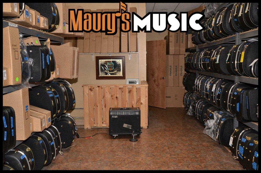 Maury's Music: 114 E Phillips St, Coadale, PA