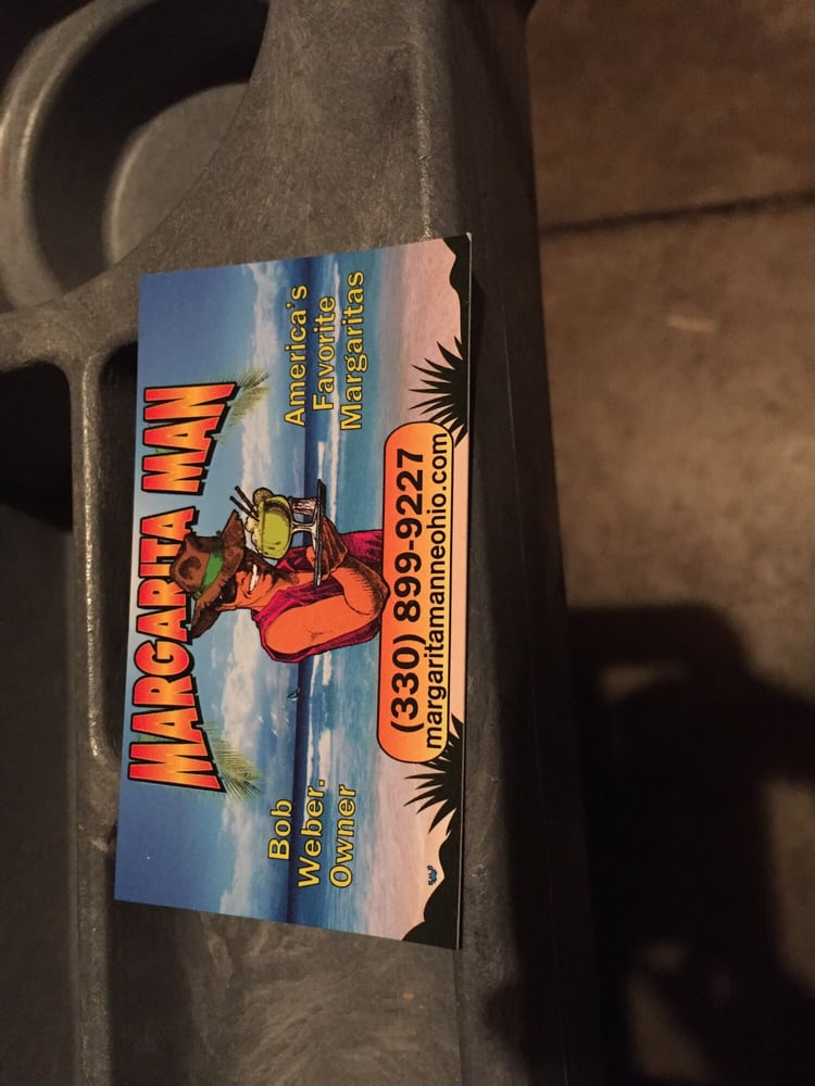 The Margarita Man: 4366 Sunnyview Dr, Uniontown, OH