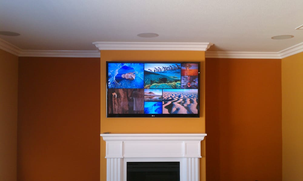 home theater installation led lcd tv installation. Black Bedroom Furniture Sets. Home Design Ideas