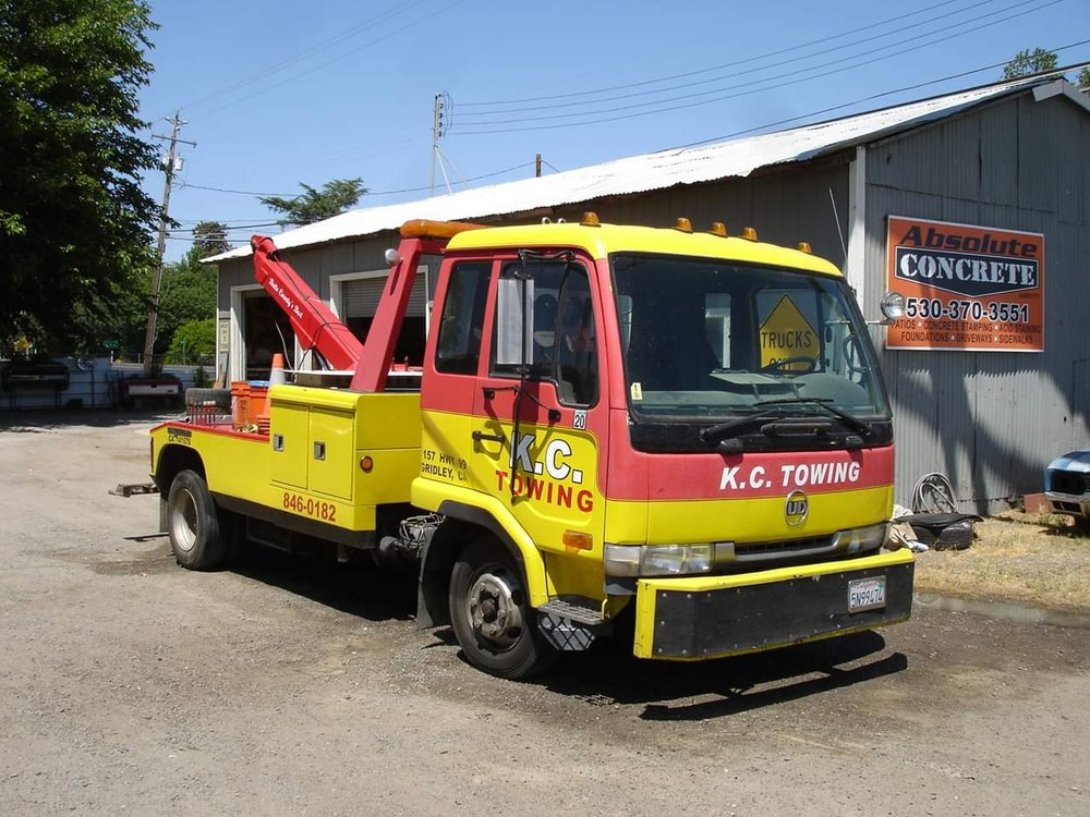 K C Towing: 1157 State Hwy 99, Gridley, CA
