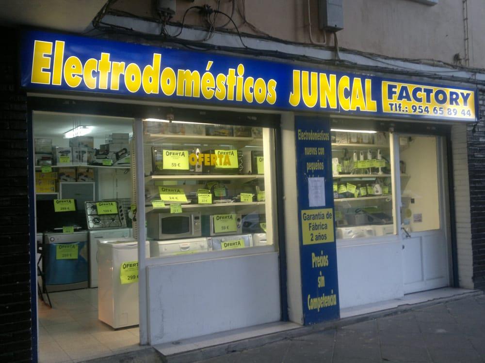 Juncal electrodom sticos avenida alcalde juan - Electrodomesticos sevilla ...