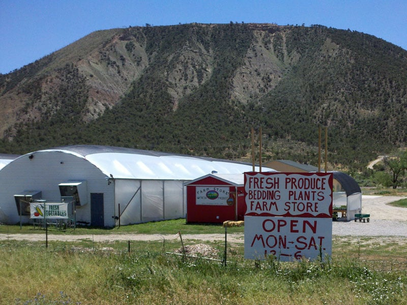 Osage Gardens Farm Store: 36730 River Frontage Rd, New Castle, CO