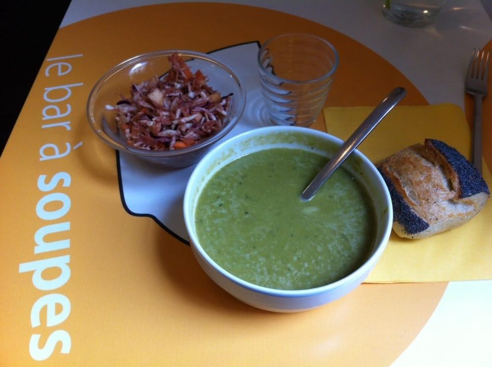 Soupe petits pois menthe et coleslaw yelp - Soupe petit pois menthe ...