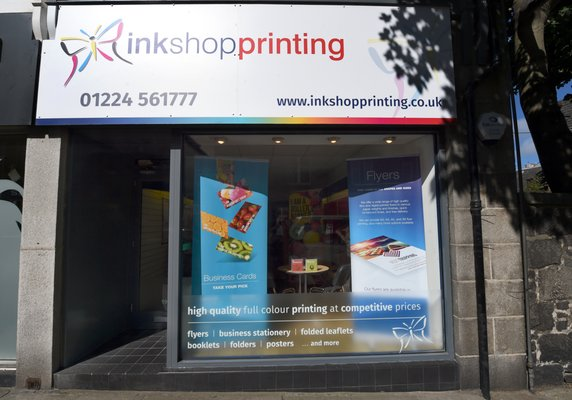 Ink shop printing printing photocopying 190 rosemount place photo of ink shop printing aberdeen united kingdom the home of fast fine reheart Image collections