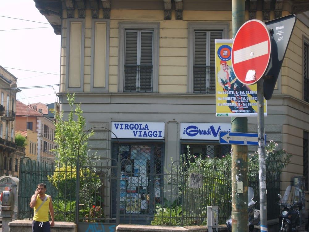 Virgola viaggi agenzie di viaggio corso cristoforo for Corso di porta genova milano