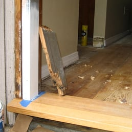 photo of tom d brown weather stripping and door hanging gladstone or united - Door Frame Weather Stripping