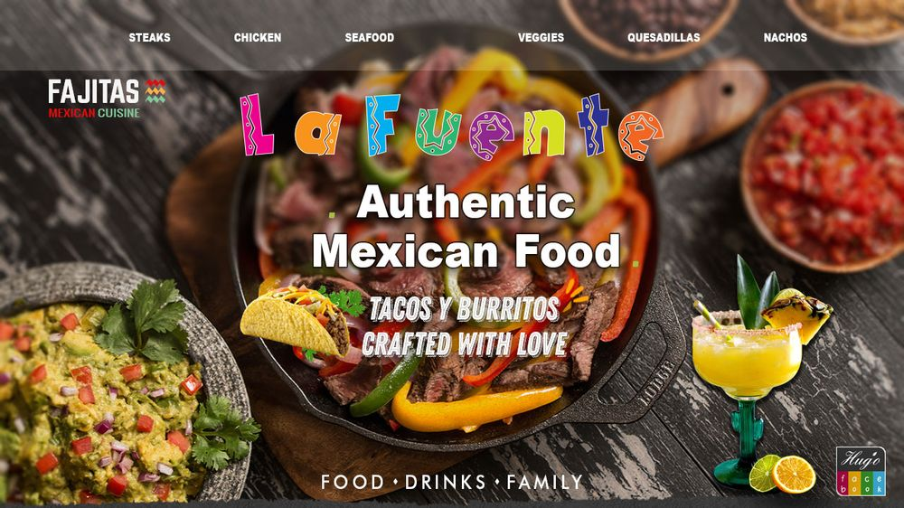 La Fuente Mexican Restaurant: 1007 Commerce Dr, Fairfield, IL