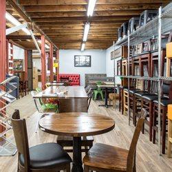 Photo Of Restaurant Seating Barn Furniture   Van Nuys, CA, United States.  Restaurant. Restaurant Seating Showroom