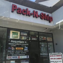 Pack-N-Ship - Post Offices - 2063 S Garey Ave, Pomona, CA