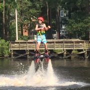 Photo Of Lifted Flyboarding Myrtle Beach Sc United States Awesome Fly Boarding