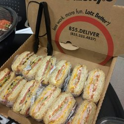 Photo Of Schlotzsky S Jonesboro Ar United States Sandwich Party Tray