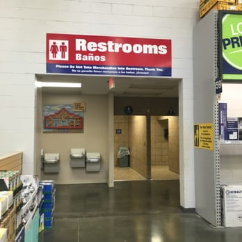 Restroom Signs Home Depot lowe's home improvement - 52 photos & 146 reviews - building