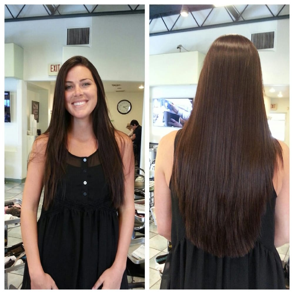 Hair Salon Los Angeles: Magic Straight And Keratin Treatment Done By Cindy