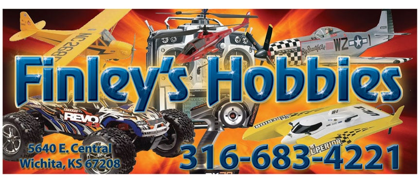 Finley's Hobbies: 5640 E Central Ave, Wichita, KS