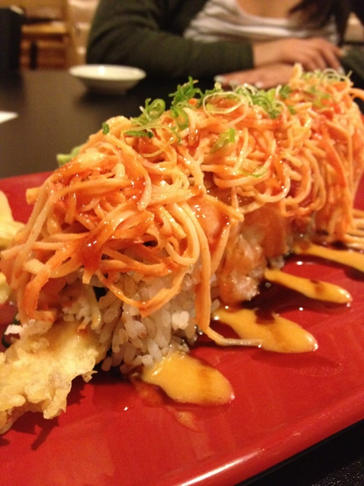 Volcano roll yelp for Fat fish san leandro