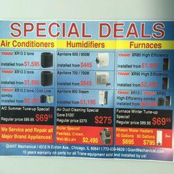 hvac prices