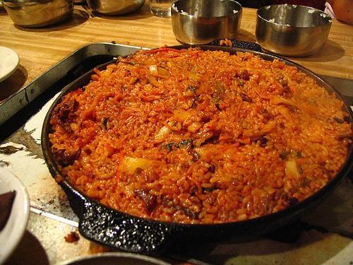Korean Restaurant Kimchi Fried Rice Near Me