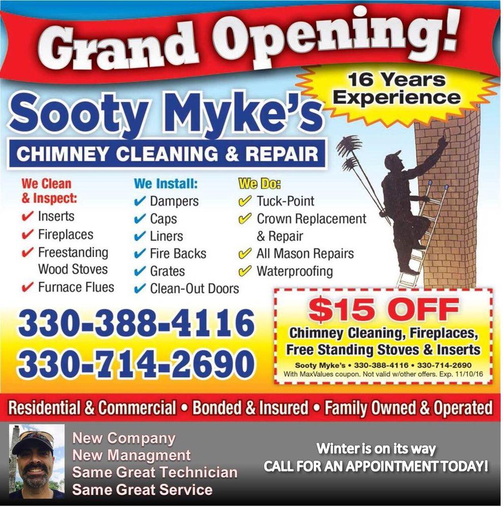 sooty myke u0027s chimney cleaning u0026 repair chimney sweeps 120