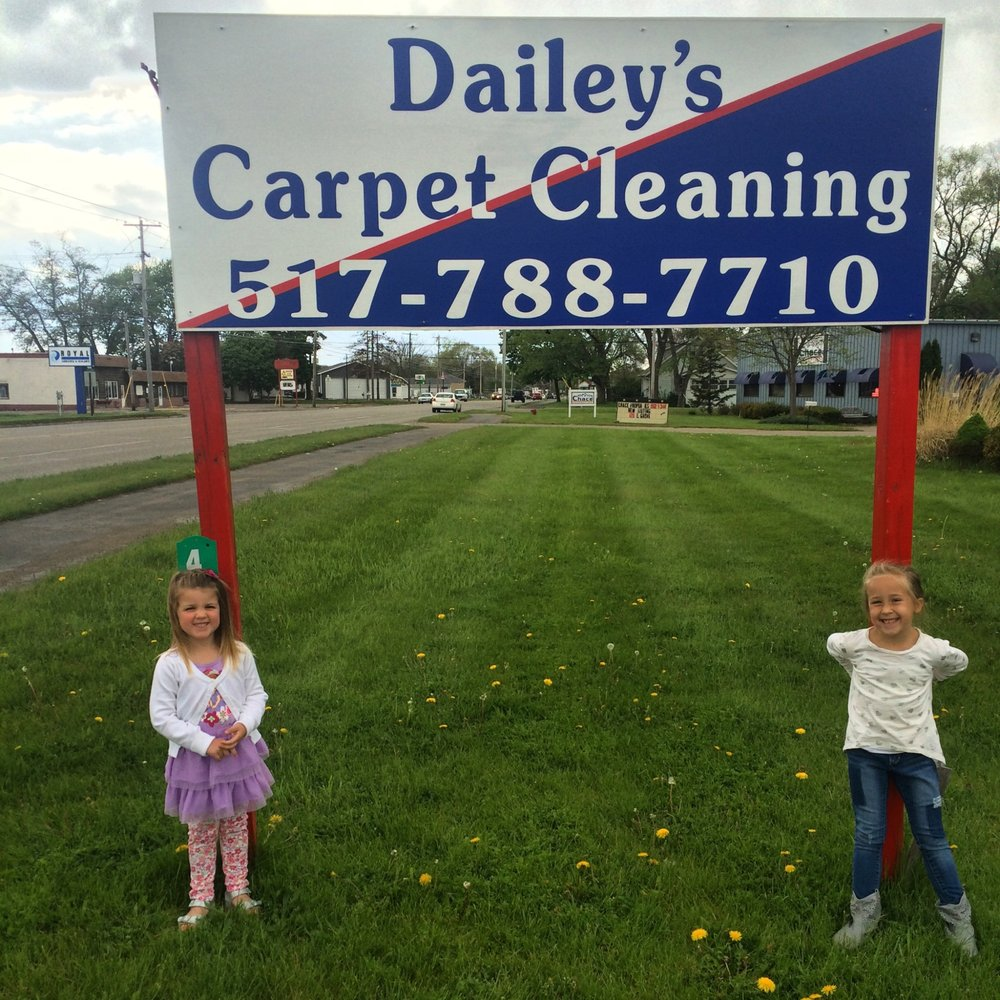 Dailey's Carpet Cleaning: 4438 Page Ave, Michigan Center, MI