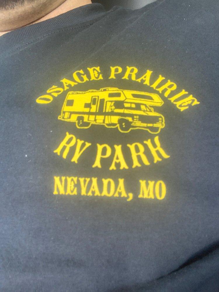 Osage Prairie RV Park: 1501 N Osage Blvd, Nevada, MO
