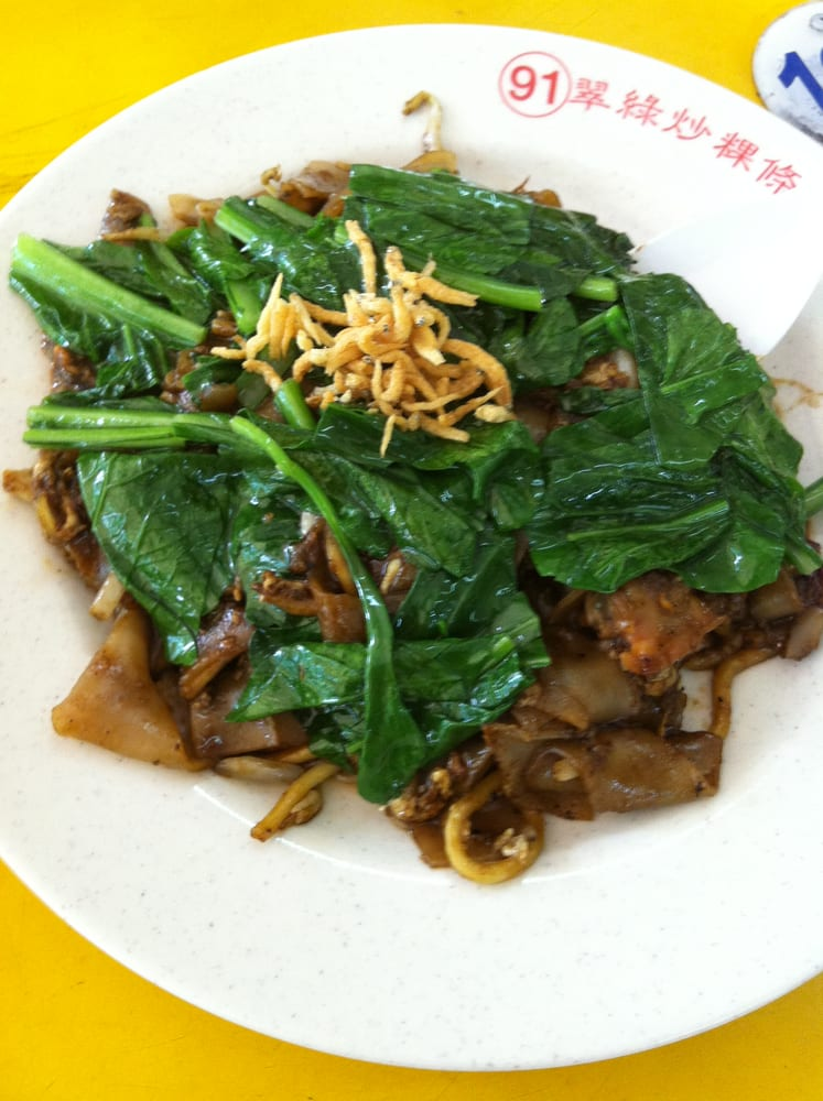 Fried Kway Teow Army Market Food Centre Army Market