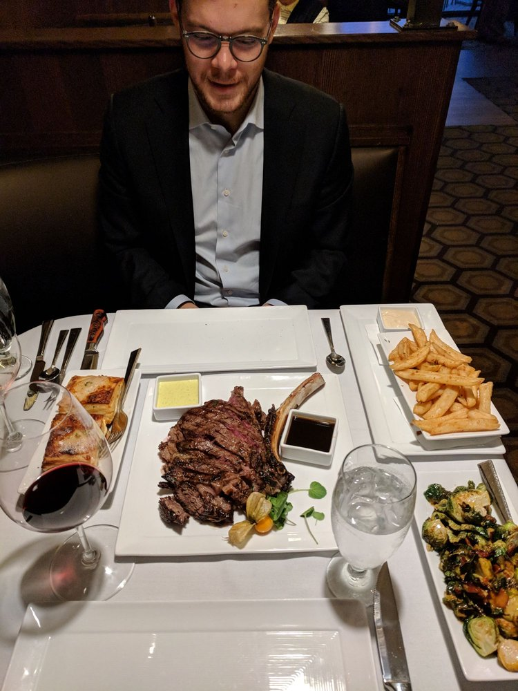 5ive Steakhouse: 44045 Five Mile Rd, Plymouth, MI