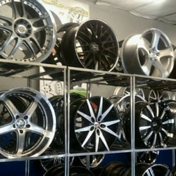 Photo of HW Motorsports - Costa Mesa, CA, United States. HW tire selection