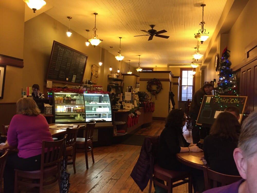 Jitterz Cafe Dubuque Menu