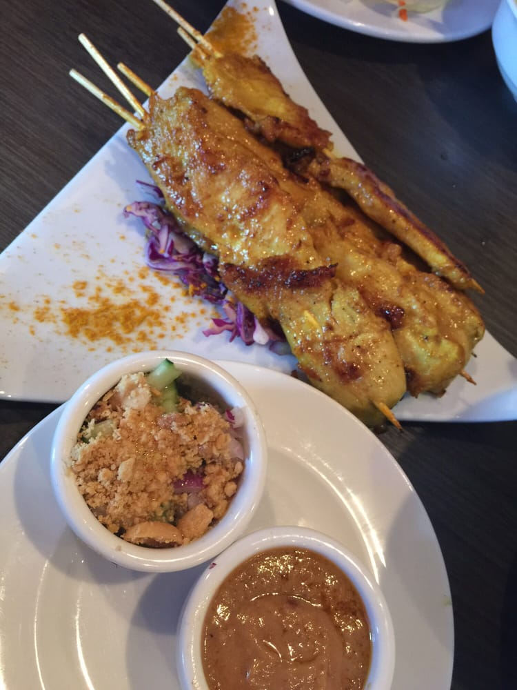 Chicken stay 5 pieces yelp for Amazing thai cuisine