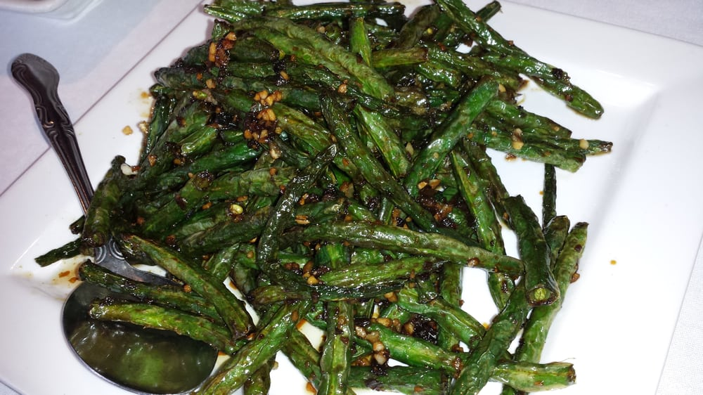 Braised green beans. Perfectly cooked. Awesome dish. - Yelp