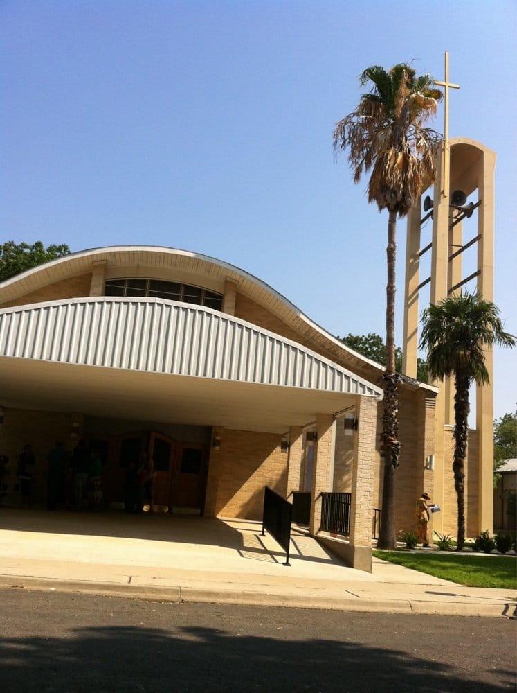 Sacred Heart Church: 408 Fort Clark Rd, Uvalde, TX