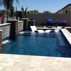 Bluewave pools spas 51 photos builders 2602 w for Pool fill in mesa az