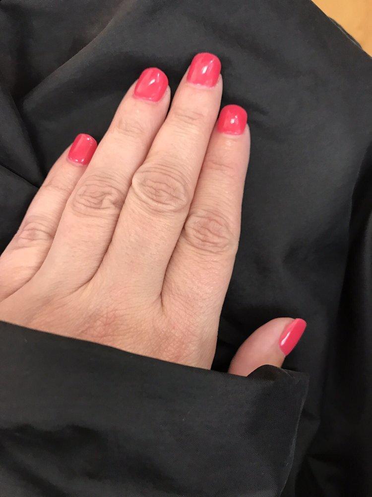 Organic dipping powder nails - Yelp