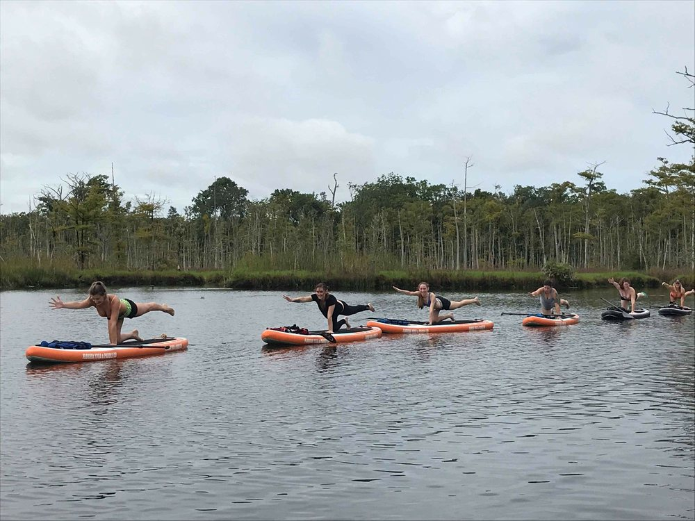 Florida Yoga and Paddle: Jacksonville, FL