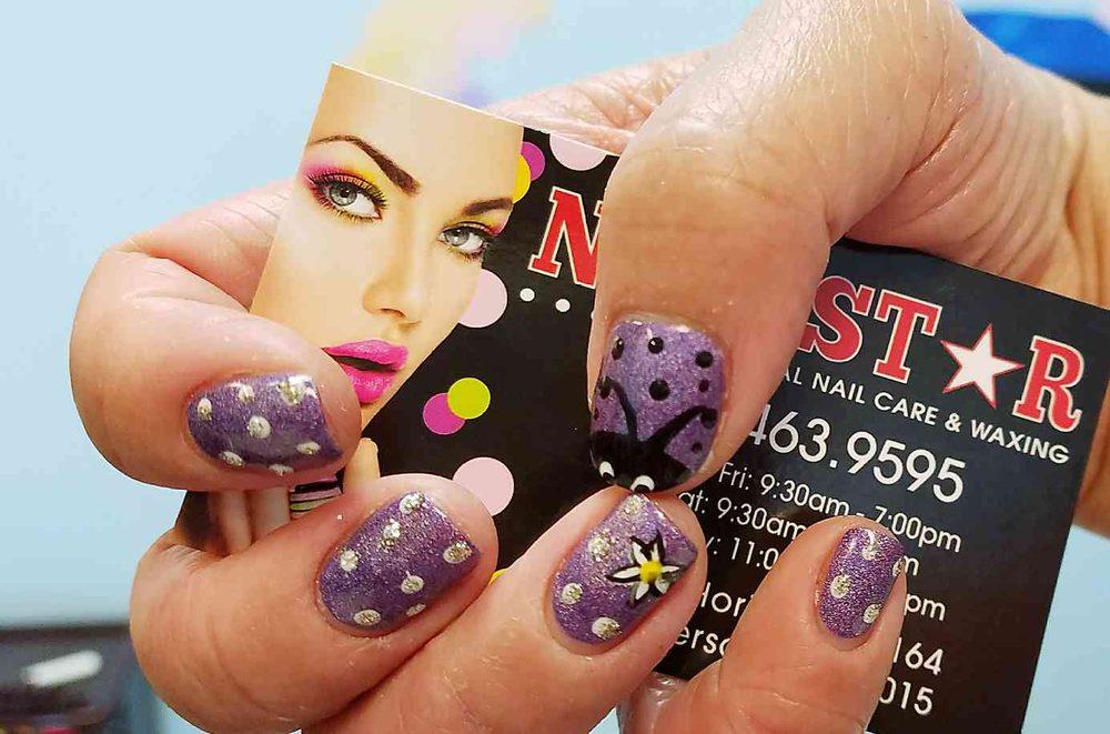 My Purple Ladybug Nail Design By Joey Yelp