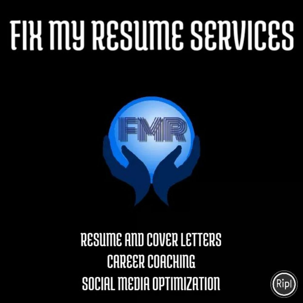Fix My Resume Services Editorial Services 8884 Louisiana St