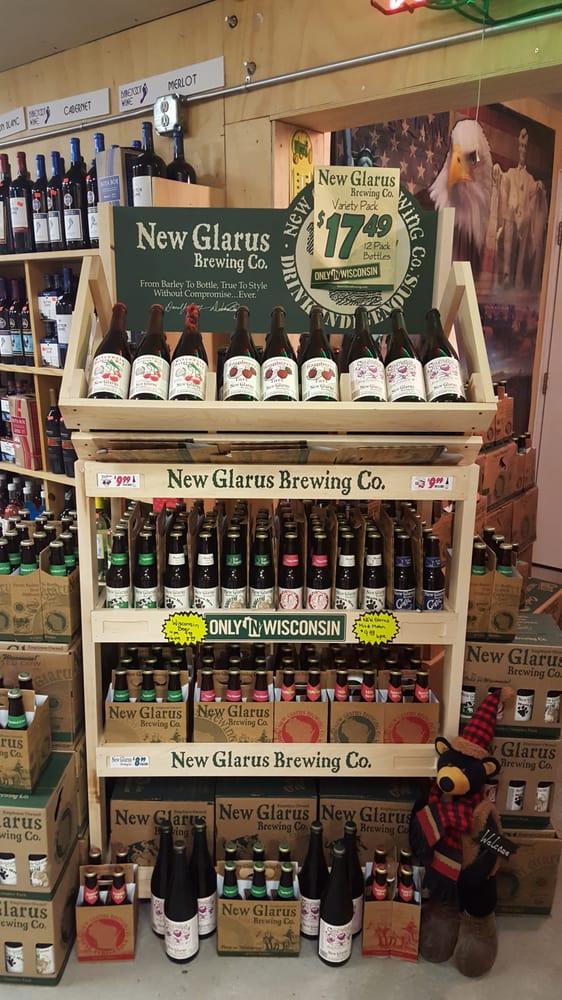 Hot Rod Liquor: N218 N Main St, Nelson, WI