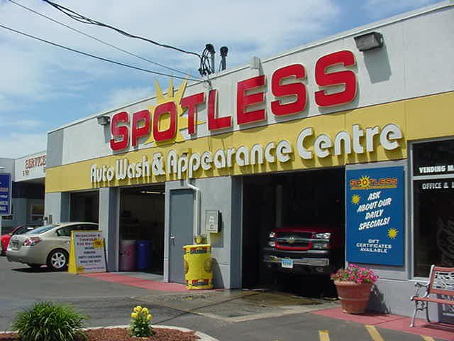 Spotless Auto Wash & Appearance Center: 151 Boston Post Rd, North Windham, CT