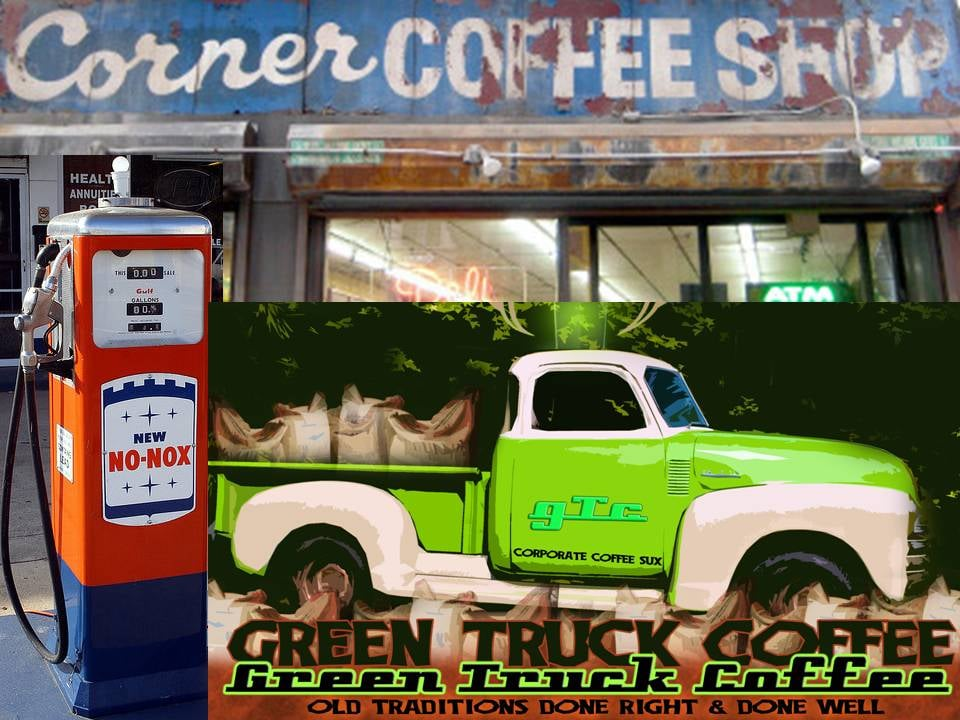 Green Truck Coffee: 147 Front St, Swansboro, NC