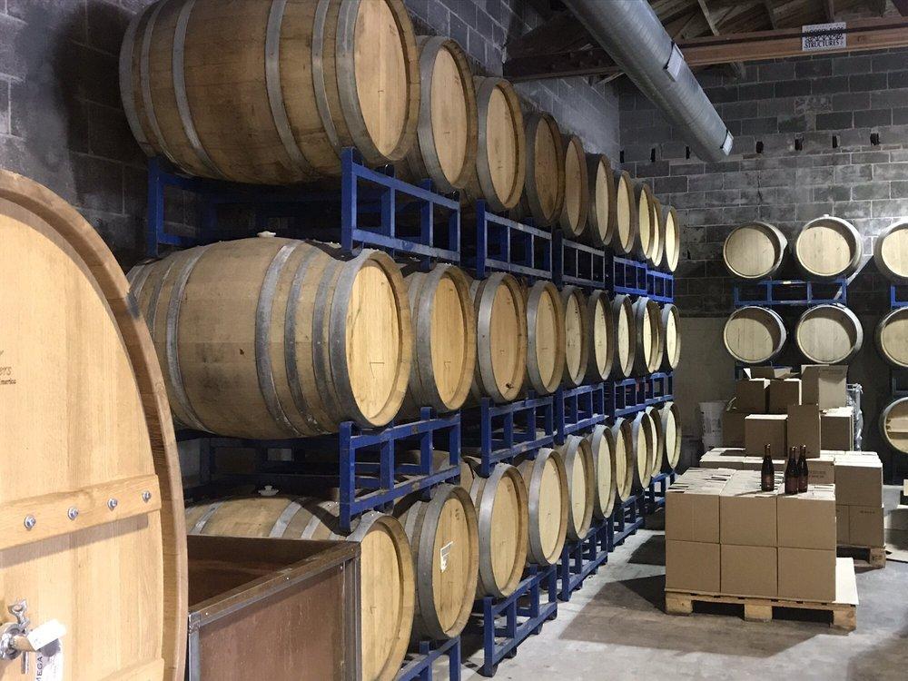 White Rooster Farmhouse Brewery: 113 W Jackson St, Sparta, IL