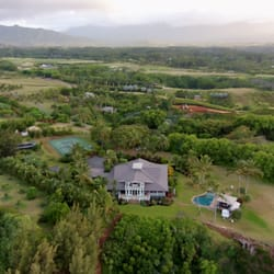 Photo Of Secret Beach House Kilauea Hi United States Drone Shot By