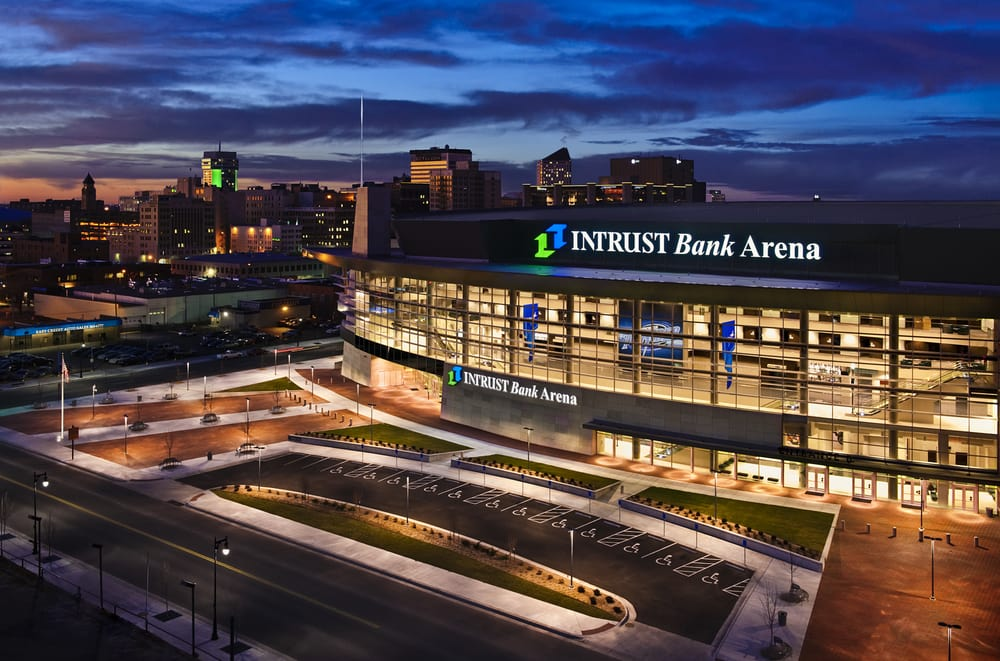 INTRUST Bank Arena: 500 E Waterman St, Wichita, KS