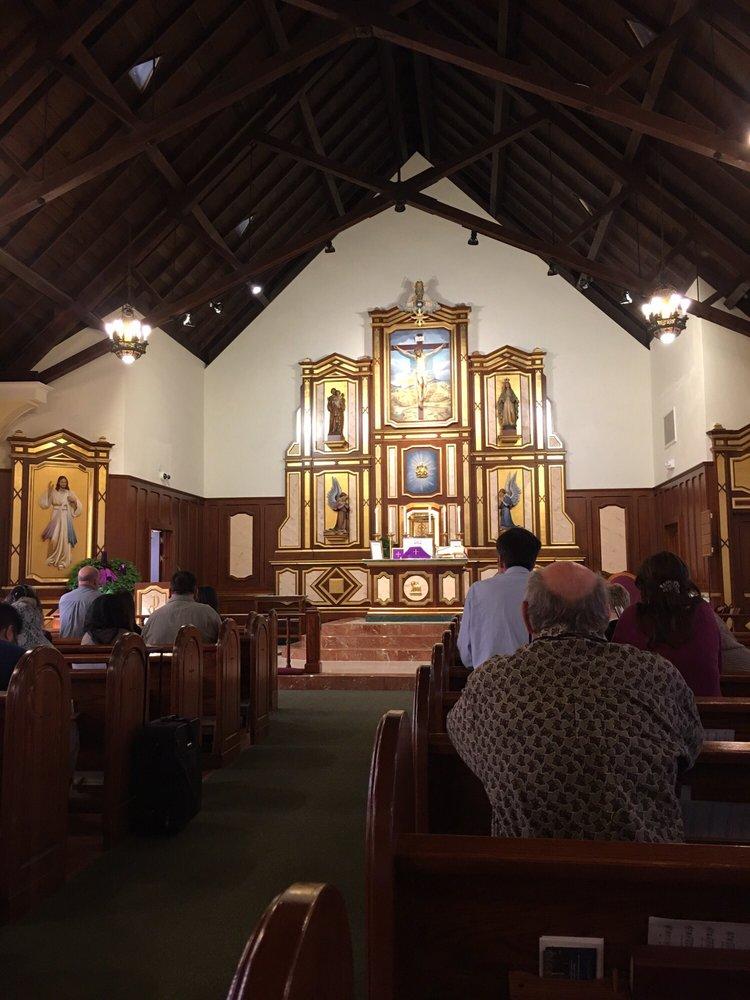 Saint Mary's by the Sea Catholic Church: 321 10th St, Huntington Beach, CA
